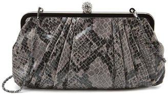 Jessica Simpson Grace Clutch Black Grey