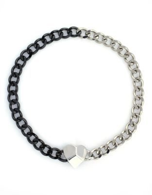 BCBGeneration Two-Tone Chain Link Necklace