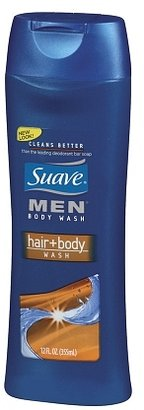 Suave for Men Body Wash, Hair + Body 2-in-1