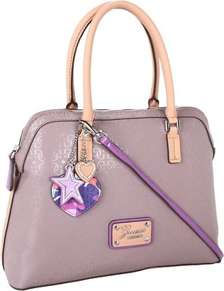 GUESS Airun Dome Satchel (Taupe) - Bags and Luggage
