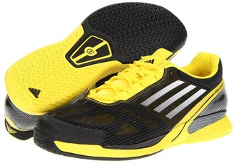 adidas adizero CC Feather 2.0 (Black/Running White/Vivid Yellow) - Footwear