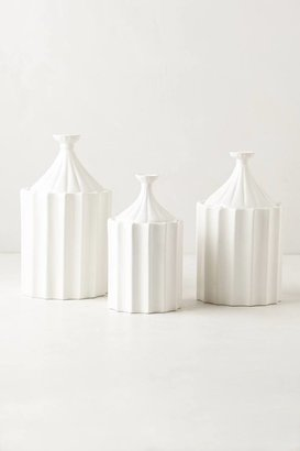 Anthropologie Ridged Canister