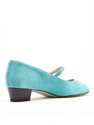 American Apparel Mary Jane Pump Suede Shoe