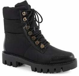 Halston H Corrine Lace-Up Boots
