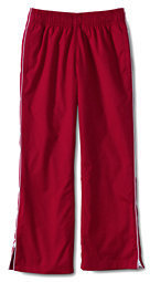 Lands' End Women's Piped Athletic Pant-Evergreen