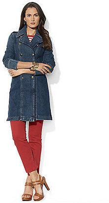 Lauren Ralph Lauren Denim Trench Coat