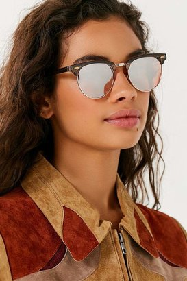 Urban Outfitters Skylar Half-Frame Sunglasses $14 thestylecure.com