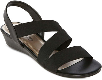 JCPenney St. John's Bay St. Johns Bay Roni Wedge Sandals