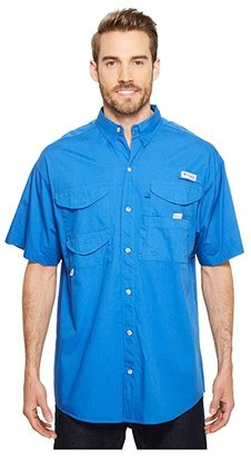 Columbia Boneheadtm S/S Shirt (Vivid Blue) Men's Short Sleeve Button Up