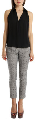 Charlotte Ronson Printed Pants