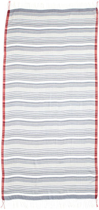 Michael Stars Striped Salvage Wrap, Ship Navy