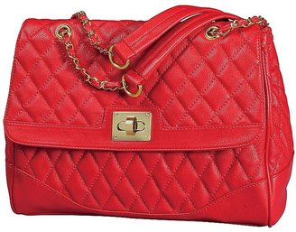 Silhouettes Quilted Satchel Bag | Silhouettes.com
