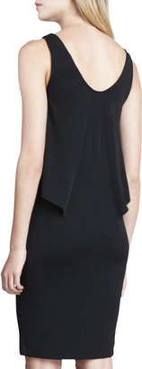 French Connection Mona Sleeveless Flutter Dress