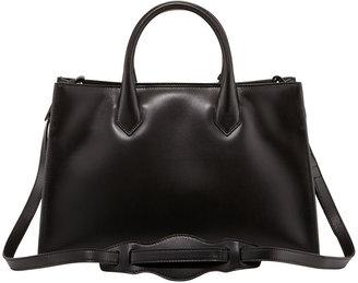 Balenciaga Padlock Works Extra-Small Tote Bag, Black