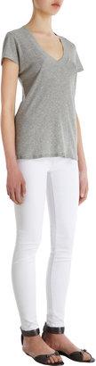 James Perse Heather V-neck T-shirt