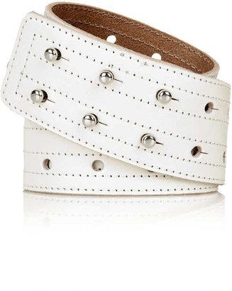 Topshop Double Row Stud Waist Belt