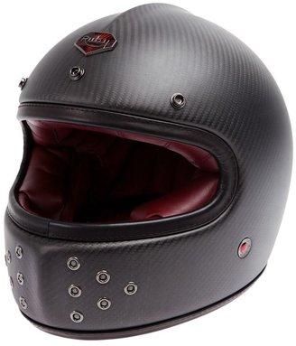 Ruby varnished helmet