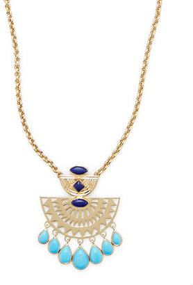 Lucky Brand Amrapali Collection Chandelier Pendant Necklace