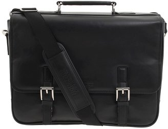 Kenneth Cole Reaction A Brief History - 5 Double Gusset Flapover Portfolio Briefcase Bags