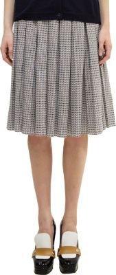 Marni Pleated Full Skirt