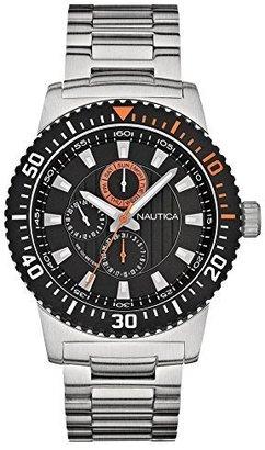 Nautica Unisex N18680G NST 16 Multi Function Watch $185 thestylecure.com