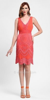 Sue Wong Motif Embroidered Cocktail Dresses