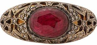 Cathy Waterman Women's Star Flower Ring