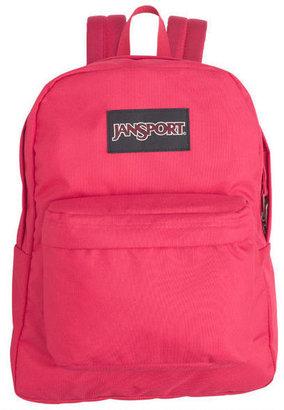 JanSport Pink Tulip Black Label Superbreak Backpack