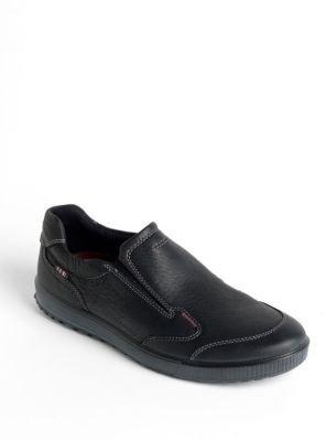 Ecco Bradley Leather Slip-on Shoes