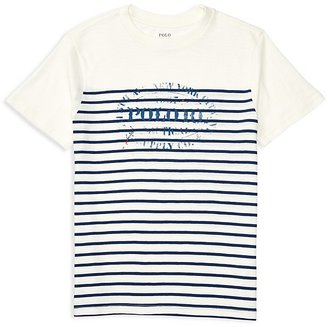 Ralph Lauren Childrenswear Boys' Graphic Tee - Big Kid