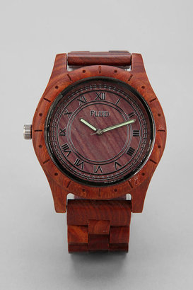 Urban Outfitters Flud Big Ben Wood Watch