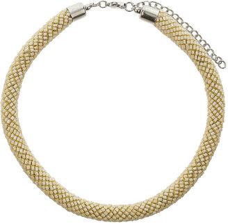 Topshop Beaded Tube Collar