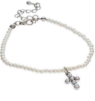 Asos Ditsy Pearl Charm Bracelet