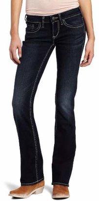 Silver Jeans Women's Aiko Curvy Bootcut Jean $49.42 thestylecure.com