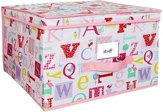 Laura Ashley Owl Alphabet Storage Box - Extra Large