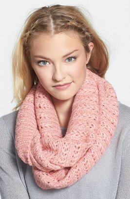 Junior Women's Bp. Chevron Pointelle Infinity Scarf $20 thestylecure.com