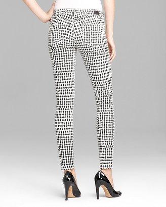 Paige Denim Jeans - Verdugo Skinny in Diamond Checkerboard