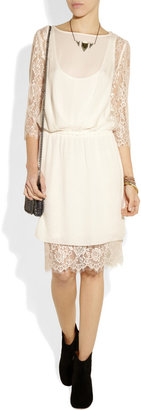 By Malene Birger Siamue lace and silk dress