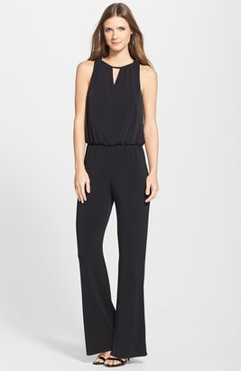 Women's Laundry By Shelli Segal Lace Cowl Back Blouson Jumpsuit $148 thestylecure.com