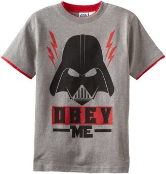 Star Wars Big Boys' Short Sleeve Tee