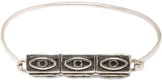 Pamela Love Six Eye Antique Plated Bracelet in Sterling Silver