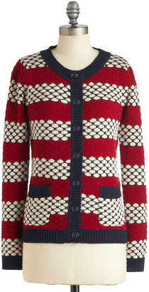Dear Creatures Knit on the Town Cardigan