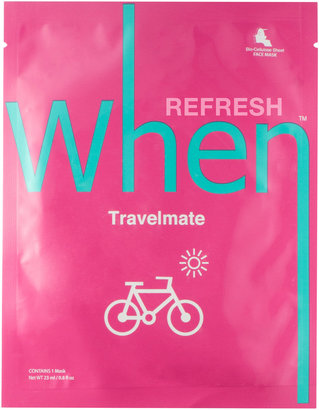 When Travelmate Sheet Mask