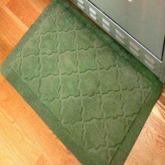 Weather GuardTM Comfort Pro Onyx 2-Foot x 3-Foot Kitchen Mat - Green
