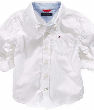 Tommy Hilfiger Baby Shirt, Baby Boys Classic Shirt $27.50 thestylecure.com