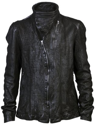 Julius Leather blouson jacket