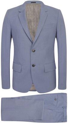 Alexander McQueen Sky Blue McQueen 2-Piece Suit