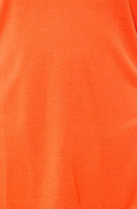 RVCA The Label Scoop Tank in Blood Orange