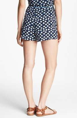 Vince Camuto Two by Floral Pleated Shorts