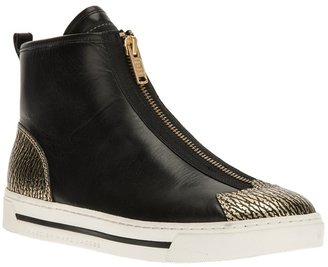 Marc by Marc Jacobs zipped high-top trainer